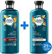 Herbal Essences Bio:Renew Argan Oil of Morocco Shampoo 400 ml  + Conditioner 400ml
