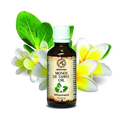 Monoi de Tahiti Öl, native, virgin, Monoi de Tahiti-Öl 100%