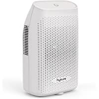 hysure 2000ml Dehumidifier for Home Electric Dehumidifiers for Bedroom Portable Dehumidifiers Low Energy for Window Bathroom Laundry Caravan (White Color)