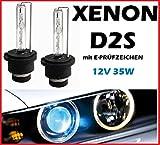 D2S Set mit zwei Xenon Brenner D2S HID 6000K 35W 6000K 12V + 10Stück Lampen Blau C5W 36mm