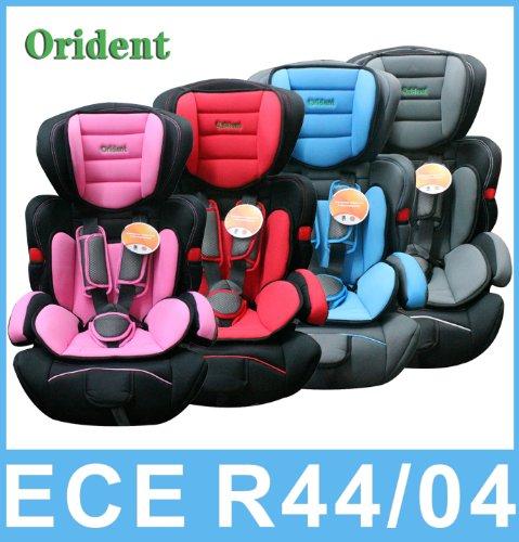 Kindersitz Autositz Kinder 9-36 Kg neu ECE 44-04 Auto ROT