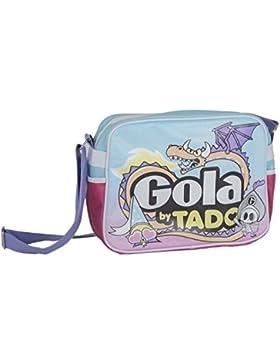 Ordnertasche herren damen GOLA hellblau tasche messanger mit umgehängt F670