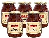 Confezione Risparmio 5 pz Patè di pomodoro ciliegino Casamorana da 1 kg ottimo spalmato su pane bruschette o tartine Perfetto per aggiungere un tocco di gusto rendendo uniche una gran varietà di ricette patè di ciliegino secco Senza conservanti e additivi