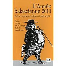 L'année balzacienne 2013 - n° 14