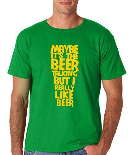 Daataadirect Herren T-Shirt Grün - Irish Green