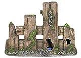 Nobby 28593 Aquarium Dekoration Aqua Ornaments Holzzaun, Größe: XXL