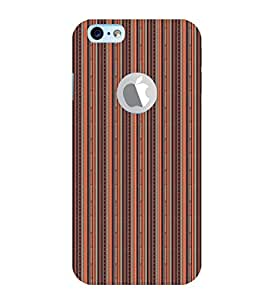 EPICCASE straight ethnic lines Mobile Back Case Cover For Apple iPhone 6, 6S Logo Cut (Designer Case)