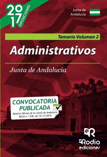 Administrativos de la Junta de Andalucía (C1.1000). Temario. Vol 2. 2ª edición (OPOSICIONES)
