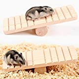 housesweet Holzwippe Kletter Spielzeug für Hamster/Totoro/Kleintiere