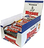 Weider Mega Mass 2000 Mix-Box Pack de 24 Barres Nutritives 60 g
