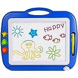 SGILE Big Size Color Magnetic Doodle Sketch Pad Magna Drawing Scribble Board for Children Toddler 4 Colors