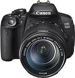 Canon EOS 700D SLR-Digitalkamera (18 Megapixel, 7,6 cm (3 Zoll) Touchscreen, Full HD, Live-View) Kit inkl. EF-S 18-135mm 1:3,5-5,6 IS STM - 2
