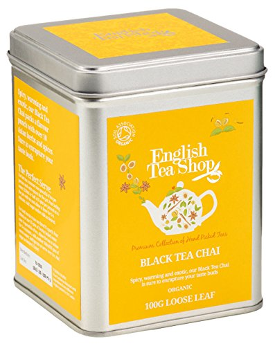 English Tea Shop – Black Tea Chai, BIO, Loser Tee, 100g Dose