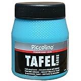 PICCOLINO Tafelfarbe 250ml Türkis - Tafellack zum Malen einer mit