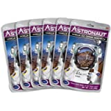 Astronaut Space Food - Freeze Dried Vanilla Ice Cream Sandwich, NASA Space Dessert, (6 Packets)