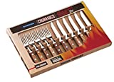 Tramontina Churrasco Set of 12 Steak Knives and Forks Light Brown Wood