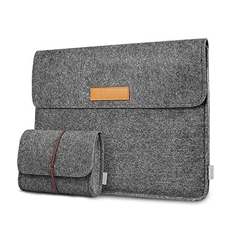 Inateck Tasche Microsoft Surface Pro 3/4 Tablet Hülle Ultrabook Laptoptasche, kompatibel mit iPad Pro 12,9