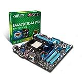 Asus M4A785TD-M Evo Mainboard Sockel AMD AM3 785G+RS880 DDR3 Speicher Micro ATX