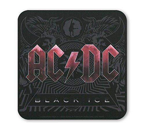 AC/DC - Black Ice Sottobicchiere sughero - Coaster - Design originale concesso su licenza