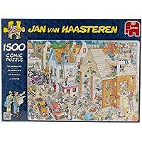 Jan van Haasteren -  Building Site Jigsaw Puzzle (1500 Pieces)