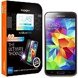 Spigen Schutzfolie f�r Samsung Galaxy S5 OLEOPHOBIC COATED [Glas.t Nano SLIM - Temperiertes Glas] - Schutz Folie Screen Protector f�r Samsung Galaxy S5 S 5 / SV / SGS5 [SGP10726]
