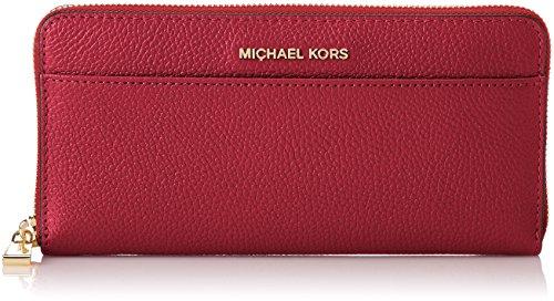 Michael Kors Damen Wallets Geldbörse, Violett (Mulberry), 2.5x21.5x10.5 cm