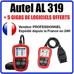 Interface Diagnostique AUTO MultiMarques - AUTEL AutoLink AL319 AUTOCOM / DELPHI
