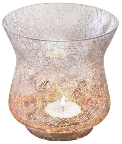 Borosil Sparkle Tea Light, 10.5cm, White