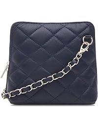 Handbag Bliss acolchada de piel italiana Designer Inspired Cruz Cuerpo Cruz Bolsa De Hombro