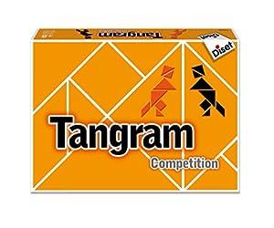 Diset- Juego Trangram competición + 6 años (76504)