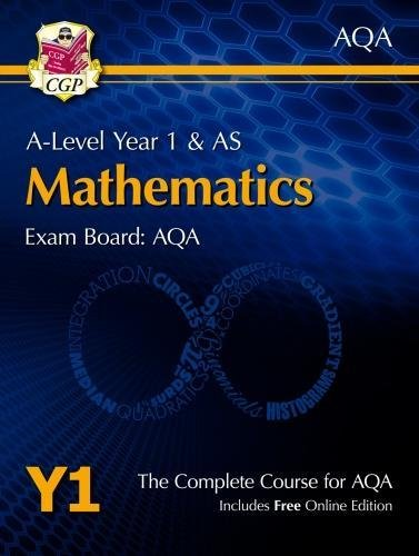 New A-Level Maths for AQA: Year 1 & AS Student Book with Online Edition (CGP A-Level Maths 2017-2018)