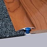 Laminat-Ausgleichsschiene Kirsch Superglanz 900 mm, für 4 - 14 mm Höhenunterschied