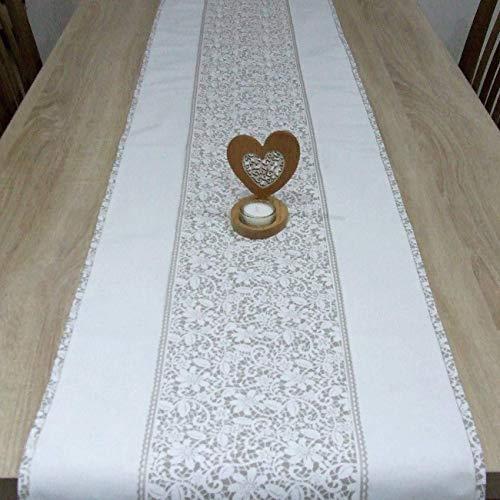 Wunderbare Tischläufer, das Beste Geschenk für die schönste Küche von HomeAtelier, Beige Spitze, 130x40cm, 150x40cm,...