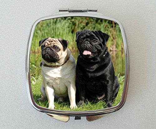 Miroir compact Motif chiot