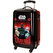 Star Wars Rogue One Maleta de Cabina, 55 cm, 33 Litros, Negro