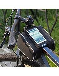Roswheel Bolsa para el manillar delantera de bicicleta bolsa para 5.5 pulgadas