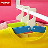 Creative Folding Bar Shaped Multipurpose Cloth Hanger for Indoor and Outdoor Use Random Color by Spiderjuice