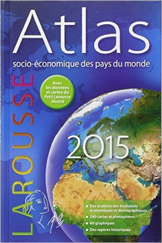 Atlas socio-économique des pays du monde 2015 de Collectif ( 4 juin 2014 ) par Collectif