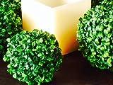 Künstliche Buchsbaumkugel ca 15 cm, Buchskugel ca 150 mm, Buxus