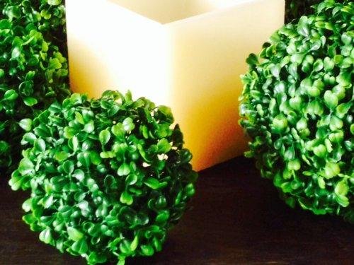 Unbekannt Künstliche Buchsbaumkugel ca 15 cm, Buchskugel ca 150 mm, Buxus