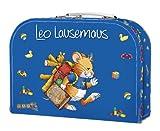 Leo Lausemaus Kinderkoffer (blau) (Lingoli)