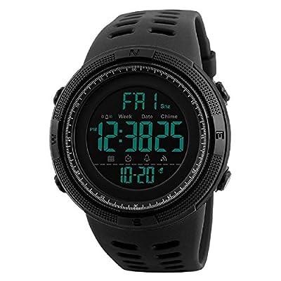 SKMEI Digital Dial Men's Watch-1251 Black