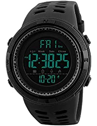 SKMEI Digital Dial Men's Watch-1251 Black