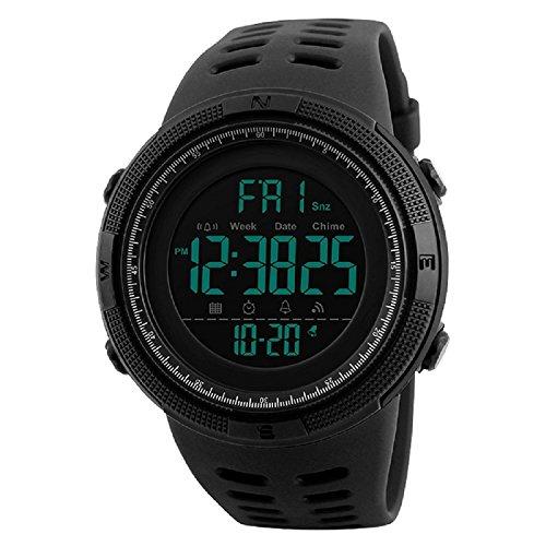 Skmei Digital Black Dial Men's Watch - Skm-1251-Black-01