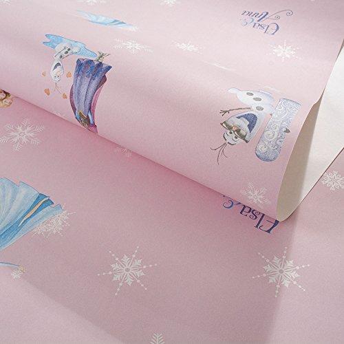 die vereinigten staaten haben aus tapete blauem schnee romantik cartoon junge mädchen rosa kinder...