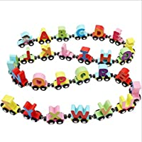 3119 Magnetic Letter car Children's Educational Toys Magnetic Letters Small Train Baby Enlightenment Toy Building Blocks Toys