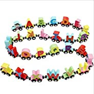 3119 Magnetic Letter car Children's Educational Toys Magnetic Letters Small Train Baby Enlightenment Toy B