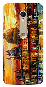 WOW 3D Printed Designer Mobile Case Back Cover For Motorola Moto X Style / Moto X Style