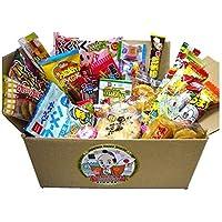 Japanese candy assortment 30pcs , full of dagashi. TONOSAMA CANDY by TONOSAMA CANDY BOX