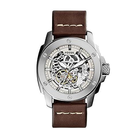 Fossil Herren-Uhren ME3083 (Herren Fossil Skelett)